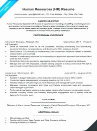 Human Resource Resume Sample Pdf New Hr Resume Boatremyeaton ...