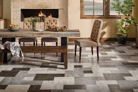multi colored vinyl flooring for the dining room alterna reserve collection grain directions