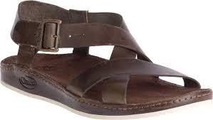 chaco wayfarer leather sandal women s