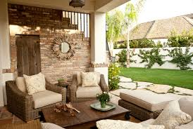 spanish style outdoor furniture. unique fence decorating idea feat comfy wicker outdoor room furniture and rustic coffee table spanish style d