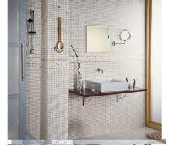 Mosaic Bathroom Floor Tile Ceramic Tile Modern Bathroom Design Image