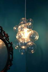 bubble light chandelier the diameter o custom led glass floating lig led chandelier lamps colorful glass high hanging light blown bubble