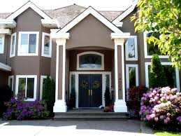 Modern Exterior Paint Colors For Houses  And Outside Pictures - Exterior painted houses