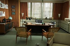 Achieving a Mad Men Theme in Your Home | Mad men, Mad and Man office