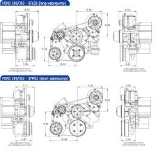 small block ford kit alternator and a c ford crate engine •kit dimensions for 289 302
