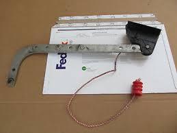 l shape bracket curved arm adjule length genie is550 a garage door opener