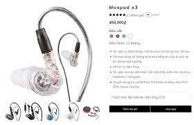 IDO Audio - Cặp tai nghe Moxpad X3 từ trước đến nay luôn được mọi người tin  dùng vì có chất lượng âm thanh tuyệt vời trong tầm giá dưới 500 ngàn,