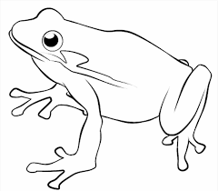 Small Picture Of Frogs With Crown To Color And Print Coloring Pages The Princess