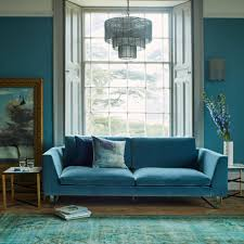 Turquoise Living Room Furniture New York Sofa Collection Bespoke Sofas Upholstery Graham Green