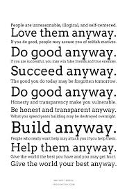 Mother Teresa Quotes Love Anyway Classy Download Mother Teresa Quotes Love Them Anyway Ryancowan Quotes