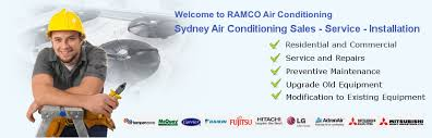 air conditioning sydney. do you need air conditioning sydney repairs to be carried out. call ramco on 1300