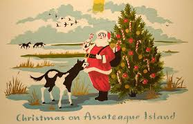 Christmas Cards Images Hungerford Christmas Cards Vintage Reprints Assateague Island