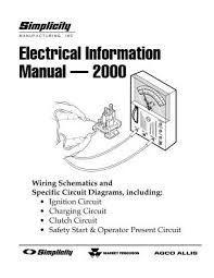 1693230 simplicity wiring schematics and circuits for riding lawn manual location