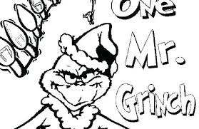The Grinch Coloring Pages Vputiinfo