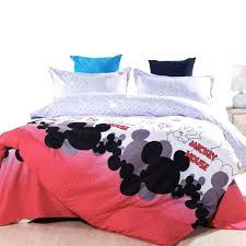 king bedding sheet sets new kids bedding set mickey mouse single size duvet cover set queen king bed linen