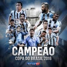 Grêmio campeão da Copa do Brasil 2016 - Sportv | Grêmio futebol clube,  Gremio campeao, Grêmio