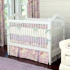 paisley baby bedding pink nursery healthfestblog