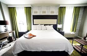 guest room at hampton inn suites washington dc navy yard