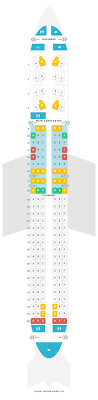 Boeing 757 Seating Chart Us Airways American Airlines Seating Chart 757