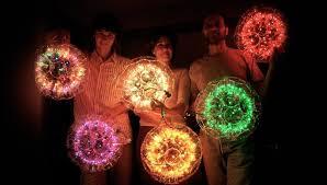 diy christmas lighting. sparkleball diy christmas decorations made of plastic cups and lights diy lighting