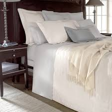 triomphe sateen duvet cover silver super king yves delorme
