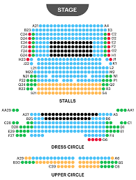 02 Academy Brixton Seating Chart Criterion Theatre Seating Plan Now Playing The Comedy