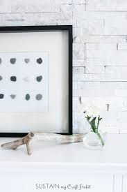 diy wall art make beautiful and natural art for your wall simply with stones and