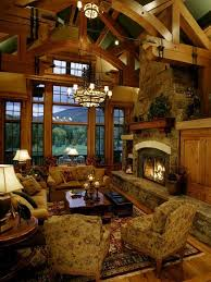 Log Cabin Living Room Concept Awesome Inspiration Ideas