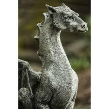 dragon statue abraxas kinsey garden decor