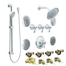 moentrol shower premium series flush sprays 3 thermostatic vertical spa trim moentrol shower valve installation