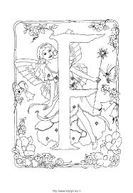 Kleurplaat Alfabet Fee 4152 Kleurplaten