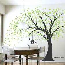 giant windy tree wall decal or paint it on my wall wall stickers trees best