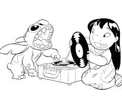 Lilo And Stitch Coloring Page Coloring Pages Lilo And Stitch Stitch