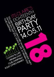 18th birthday invitations 18th birthday invitations for your grand