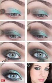 best makeup for blue grey eyes