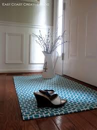 Kitchen Rubber Floor Mats Diy Fabric Floor Cloth Floor Mat East Coast Creative Blog