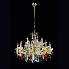 exclusive vintage design gold plated crystal chandelier