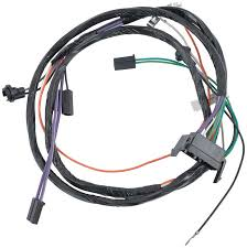 impala parts electrical and wiring wiring and connectors 1966 impala full size auto trans out console gauges console wiring harness