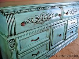 Fresh Giving Painted Furniture A Distressed Look