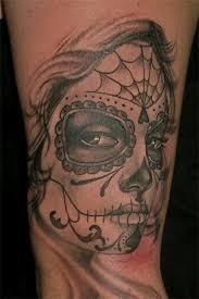 Aztec Tattoo Patterns Custom Dia De Los Muertos Catrina Aztec Tattoo Tattoos And Tattoo Designs