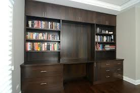 custom built desk wall units with desk and bookcase plus cabinets throughout wall unit with desk