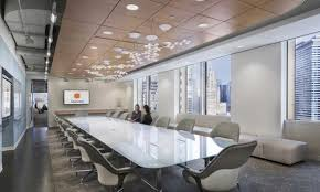 white office design. Plain Design Two Women Sitting At A Large Modern Conference Table With White Office  Chairs In An Open Intended Design