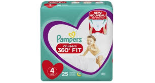Pampers Launches No Tape Diaper Pants In The U S