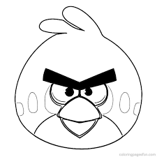 Small Picture Free Printable Angry Bird Coloring Pages Gianfredanet
