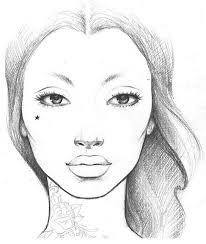 Pin By Alexita Ladyblue On Drawings Makeup Face Charts