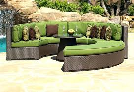 isola wicker outdoor patio sectional furniture set 7 pc – amasso