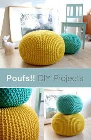 Poufs are a multi-functional and stylish addition to any room in the house.  Make your own for less with the help of this DIY pouf tutorial.