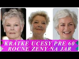 Nádherný účesy Z Krátkych Vlasov Pre Staršie ženy Na Jar 2018