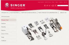 Singer Sewing Machine Presser Foot Types