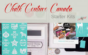 Chalk Couture Designer What Is In The Chalk Couture Canada Starter Kits 2019